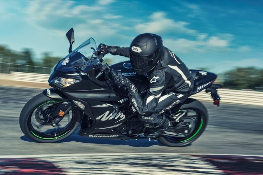 Kawasaki Ninja 300 2017 Preta Kawasaki M3 Parts